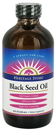 Heritage Products Black Seed Oil 8 OZ by Heritage