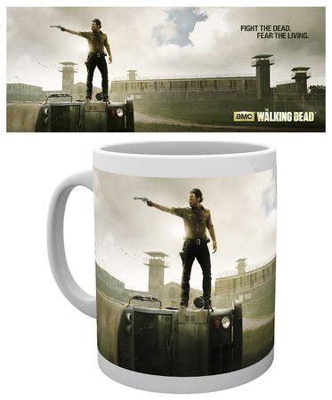 GB eye, The Walking Dead, Prison, Tazza