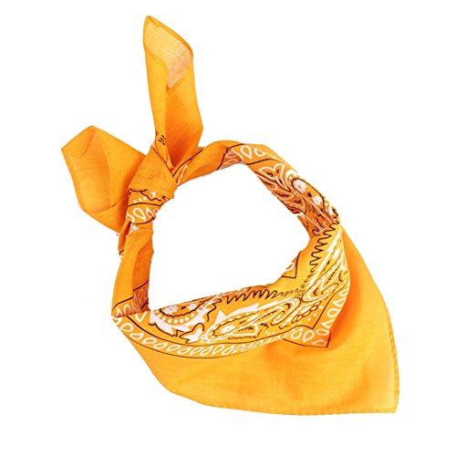 Qinlee Kleiner Quadratische Halstuch Multifunktional Taschentücher DIY Kopftuch Frühling-Sommer Taschentuch Bandana Haar Gestylten für Unisex ()