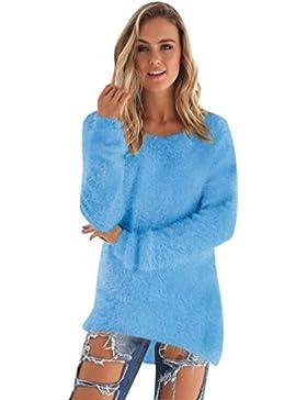 Suéter Jersey Largo Jerseys de Punto Mujer Sueter de Dama Sueteres Largos Vestidos Prendas de Punto Sueters Tejidos...