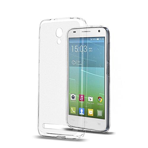 TPU Schutzhülle Case Etui transparent für Alcatel One Touch Idol 2 mini S (OT-6036) Alcatel One Touch Pp
