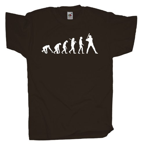 Ma2ca - Evolution - Baseball T-Shirt Chocolate