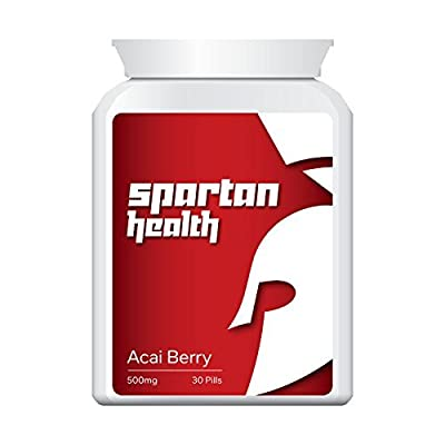 Spartan Health GET RIPPED WITH ACAI WORKOUT 300 washboard stomach by Fairtrade Int Co Ltd