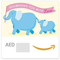 Amazon.ae eGift Card - Baby Shower Elephants