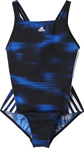 adidas Mädchen INF EFP1 1PC Y Badeanzug 1 Stück, Schwarz (Negro/Azul), 128 -