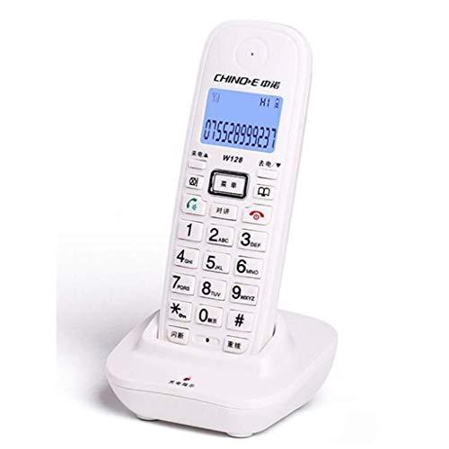 YDS SHOP Telefon, digitales schnurloses Telefon, Smart Wireless Festnetz (Color : White, Size : A)