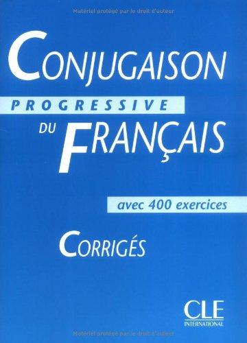 Conjugaison progressive du français : Corrigés