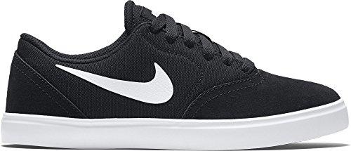 Nike Jungen Sb Check Sneaker Schwarz - Schwarz (Schwarz / Weiß)