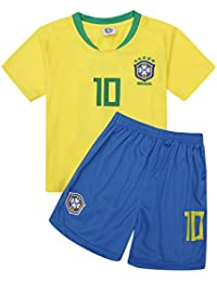 zhuzhuyi Camiseta De Fútbol Copa del Mundo Alemania Argentina España Juego De Ropa para Fútbol Infantil