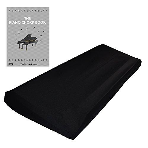 Schwarz Konsole Warenkorb (Dehnbare Keyboard Staubschutzhülle Für Keyboards Mit 61-76 Tasten: Am Besten Geeignet Für Alle Digitalen Klaviere & Konsolen.- Kostenloses Klavierakkorde E-Book - 41