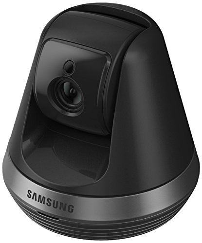 Samsung Smart Home Camera: Full HD Compact Indoor Security Auto Tracking Pan/tilt Camera, CCTV, Baby Monitor, Two-Way Audio, Motion Detect (SNH-V6410PN/UK) – (Black) 41oAuTVA 2BNL