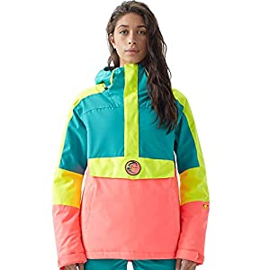 O'Neill Damen Frozen Wave Anorak Jacket Snow