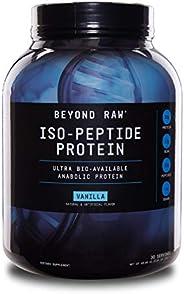 GNC Beyond Raw Powder Raw ISO-Peptide 3.04 lbs, 1.37 Kg (Vanilla)