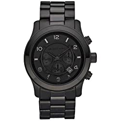 MK8157 Gents Stainless Steel Black Michael Kors Watch
