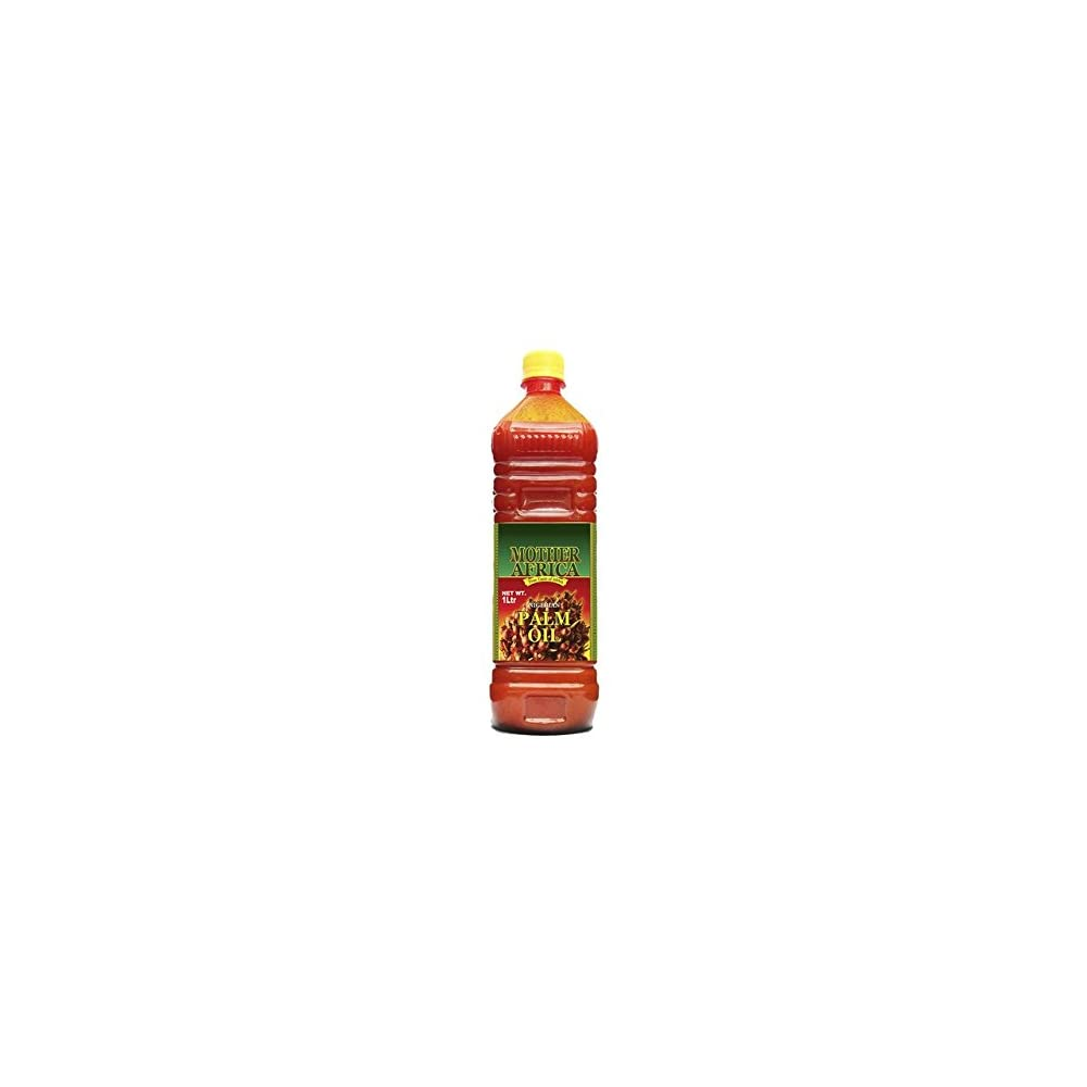 Mother Africa Rotes Palml 1000ml Palm L Pure Red Palm Oil