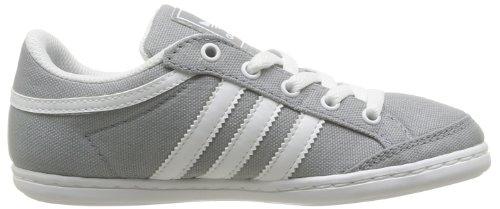 adidas Originals Plimcana Low K, Baskets mode mixte enfant Gris (Grimoy/Blanc/Blanc)