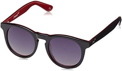 Wolfnoir, HATHI RED - Gafas De Sol unisex multicolor (negro/rojo), talla única