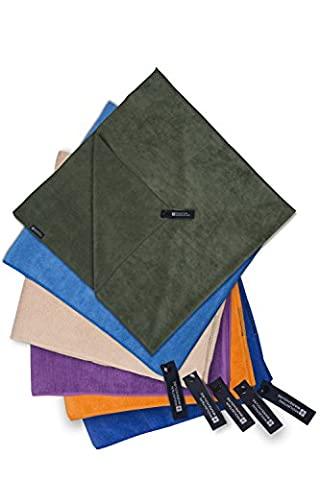 Mountain Warehouse Microfibre Travel Towel in 6 Colours - Light,