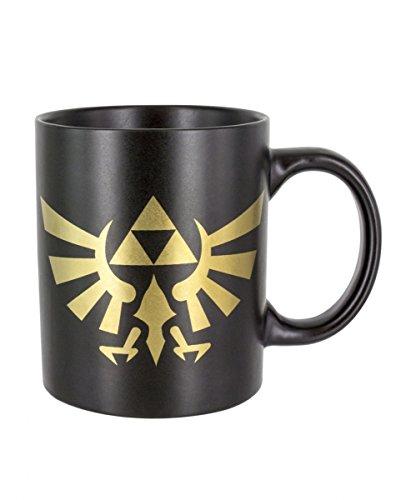 Horror-Shop The Legend of Zelda Hyrule Kaffeetasse als Videospiel Merchandise für Gamer