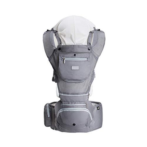 Porte-bébé Multifonction Respirant Bébé Tissu de Coton Confortable pour l'été ( Color : B )