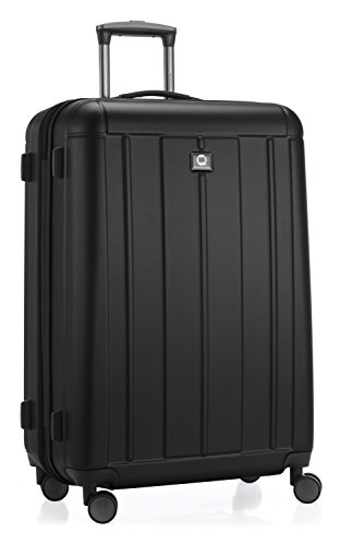 HAUPTSTADTKOFFER - Kotti - 2er Koffer-Set Trolley-Set Rollkoffer Reisekoffer, TSA, (S & L), Schwarz matt - 9