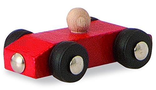 Eichhorn/Heros 100027332 – Auto-Rennbahn, 5-teilig, bunt – 38×31 cm – Rollbahn – Made in Germany – Buchenholz - 5