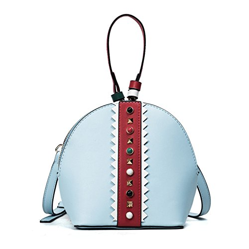 Moda Rivetto Shell Bag/Borsa Monospalla Messenger-B C