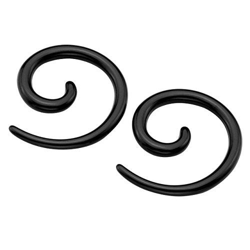 piercingj-2pcs-bocule-clou-doreille-en-spirale-baton-conique-acrylique-helix-escargot-taper-ecarteur