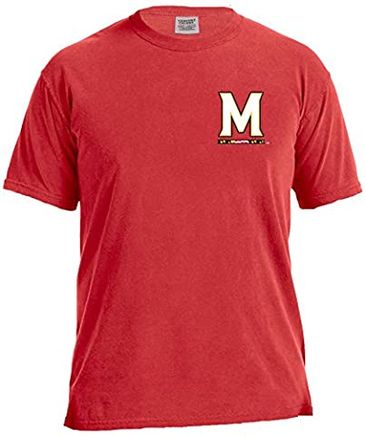 Image One Unisex Ncaa Maryland Crab Short Sleeve Comfort Color
