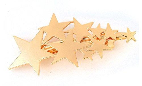Obstschale Arbre Metall Creative Sterne Haarspange Haar Clips Haar-Accessoires für Frauen Mädchen