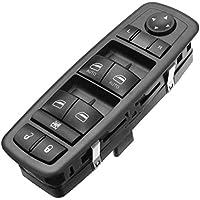 Instalación profesional fácil Interruptor de la ventana eléctrica Bloqueo de la puerta Interruptor de espejo Lado del conductor para Dodge Ram 2009-2012 4602863AD 4602863AB