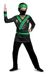 Lego Ninjago Movie Lloyd Jumpsuit Dress Up Costume, Multi-colour, 7 - 8 Years