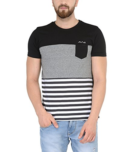 AWG-Mens-Premium-Cotton-Half-Sleeve-Smart-T-shirt