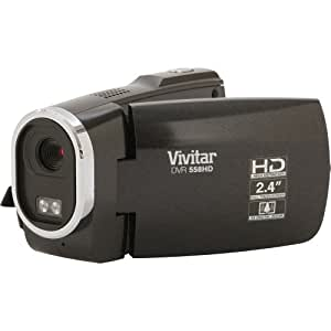 Vivitar DVR558 HD in Black with 4x Digital Zoom, HD Videos and Touch Screen