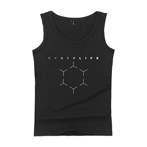 Kostüm Connor Cosplay - Unisex Detroite Become T-Shirt Cosplay Vest Kostüme West Shirt Connor Tshirt Hank Marcus Spiel Bekleidung
