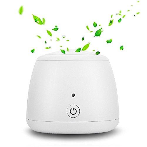 KYG Purificateur d'air Ionique, Désodorisant USB, Ioniseur d'Ozone Portable, Stérilisation à l'ozone pour Éliminer Mauvaises Odeurs, Bactéries, Germes, la Fumée de Cigarette