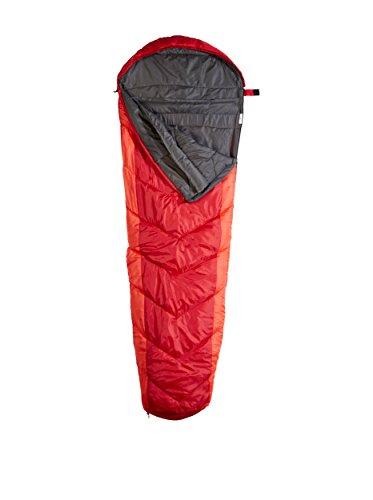 Black Crevice-Sacco nanna Alaska 250, Unisex, Schlafsack ALASKA 250, rosso, taglia (Re Sacco A Pelo)