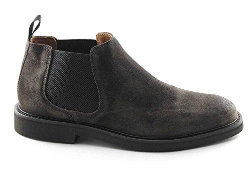 FRAU 74F3 CAFÉ beatles homme de sivaletti daim chaussures 40