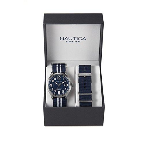 nautica-nai11509g-montre-homme-quartz-analogique-cadran-argent-bracelet-nylon-bleu