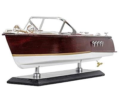 aubaho Maquette de Bateau - Bateau de Plaisance - Yacht - 36 cm