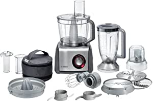 Bosch MCM68861GB Food Processor, 1250 W, 3.9 L - Brushed Stainless Steel