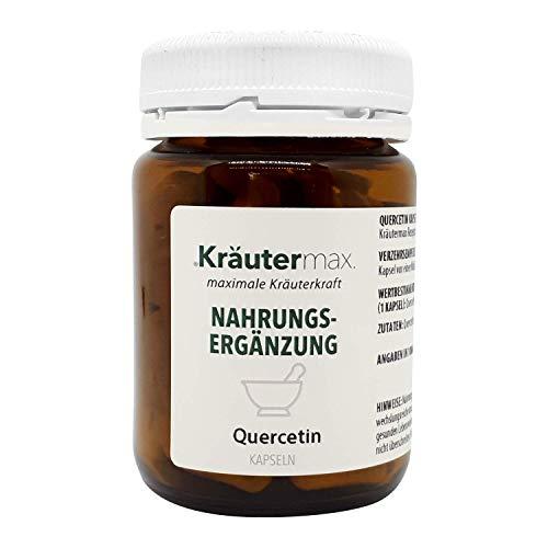 Quercetin-Kapseln 1 x 90 Stk. - Quercetin-hochdosiert-ohne-Zusatzstoffe - Quercetin-vegan - Quercetin-250-mg - Quercetin-hochdosiert - Quercetin-hochdosiert-vegan - gelatinefrei, lactosefrei