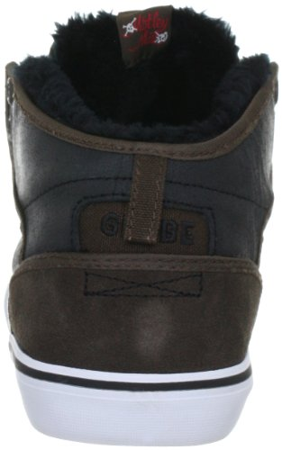 Globe Motley Mid, Chaussures de skateboard homme Marron (17220 Choco/black Fur)