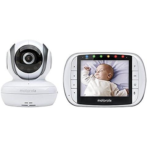 'NCC® Motorola mbp36s Vigilabebés Digital Pantalla LCD en color de 3,5con infrarrojos cámara