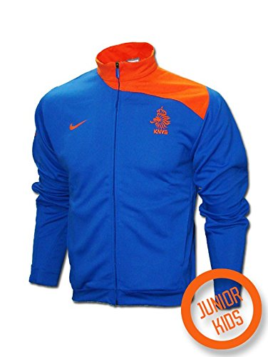 Nike - Holanda Chandal ENTRENO Junior EURO08 Hombre Color: Azul Royal Talla: L