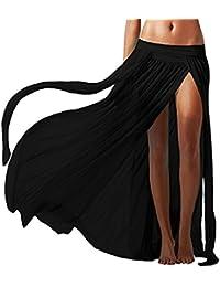 L-Peach Vestido de Malla Bikini Cover Up para Playa