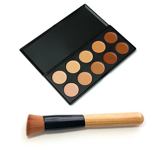 Vococal® Correcteur Camouflage Cosmétique Maquillage Palette avec 1 PC Pinceau de Maquillage Kit
