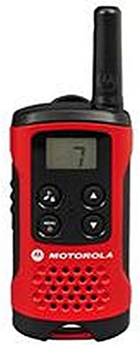 Talkie-walkie 2 voies Motorola Talker T40 Radio - Noir / Rouge (Lot de 2) | Nouvelle Arrivée