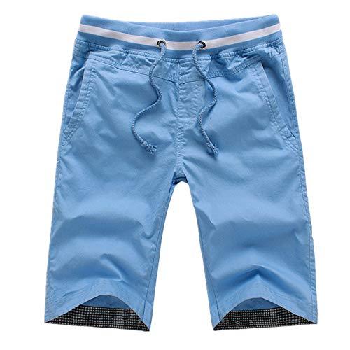 �ssig Schnell Trocknend Kurz Strand Lässig Sport Für Strandurlaub Tropical Travel Pants Multi Pockets Mit Verstellbarer Elastischer Schnur ()