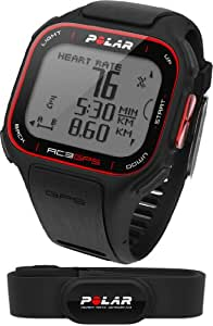 POLAR Sportuhr RC3 GPS HR Black, 90051072